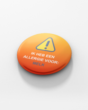 Button buttons melkallergie