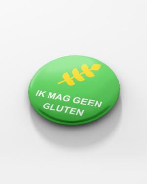Ik mag geen gluten button