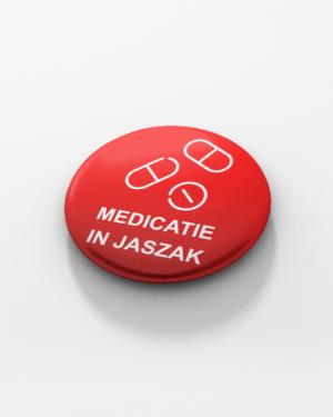 button medicatie jaszak