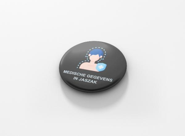 Button buttons medische gegevens
